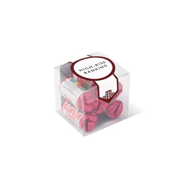Clear Cube – Love Hearts®