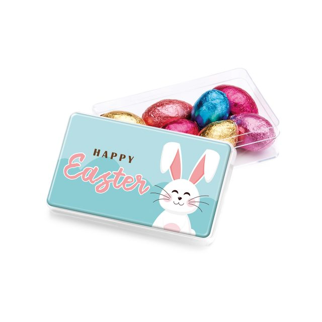 Easter – Maxi Rectangle Pot – Foiled Chocolate Eggs