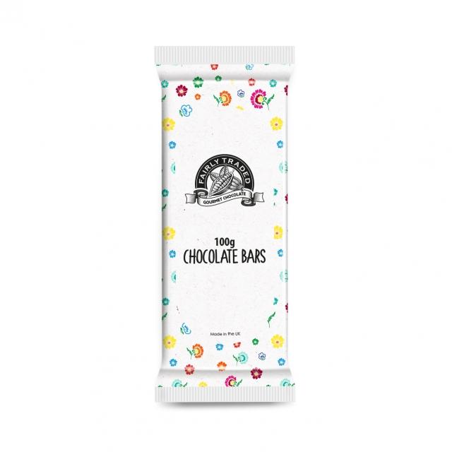 Flow Bag – Milk Chocolate Bar – 100g