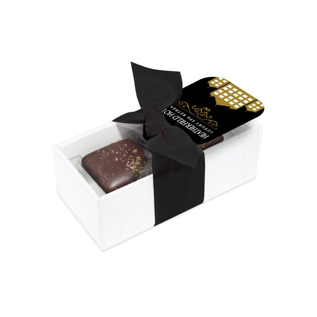 2 Choc Box – Dark Chocolate Salted Caramels