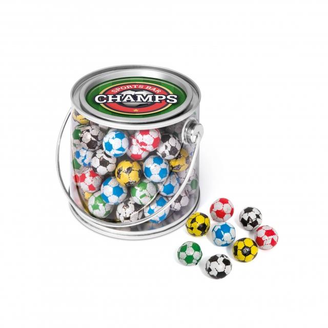 Bucket Midi – Chocolate Footballs