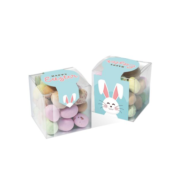 Easter – Clear Cube – Speckled Eggs