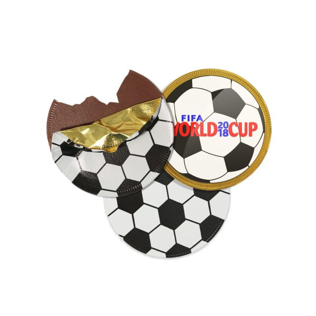 Chocolate Medallion – Football Coin