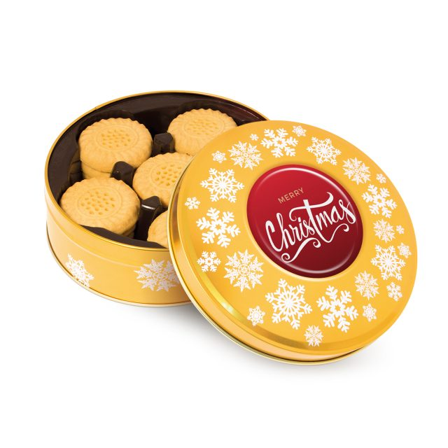 Share Tin – Shortbread Biscuits – Gold