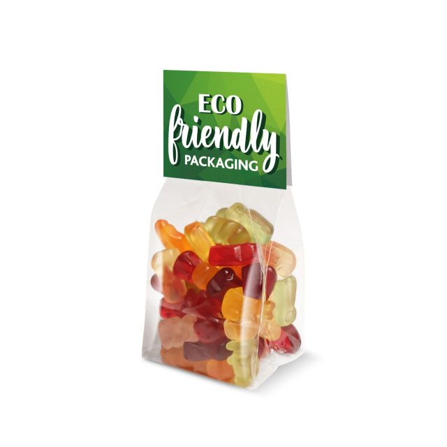 Eco Range – Small Block Bottom Bag – Kalfany Fruit Gums – 70g