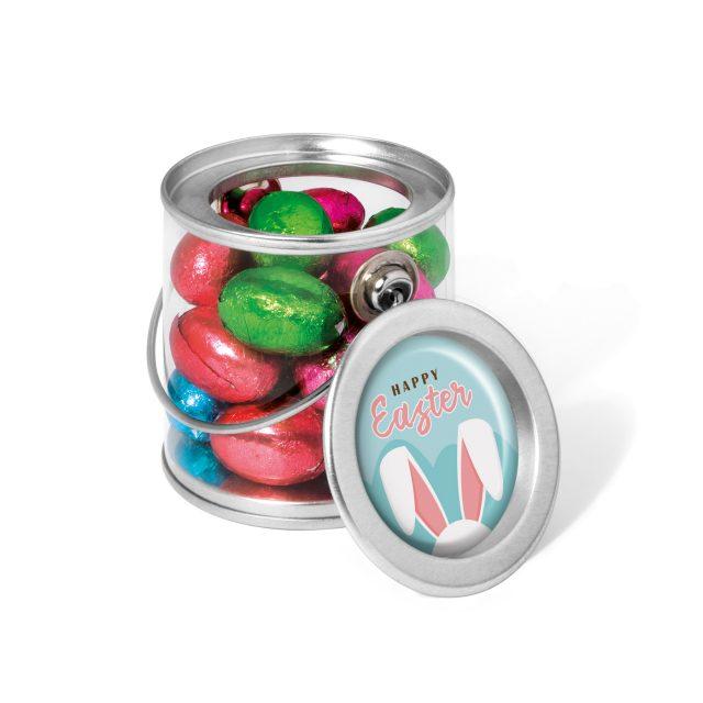Easter – Bucket Mini – Foiled Chocolate Eggs