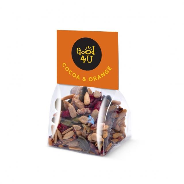 Eco Range – Block Bag – Cocoa & Orange Snacks – Mini