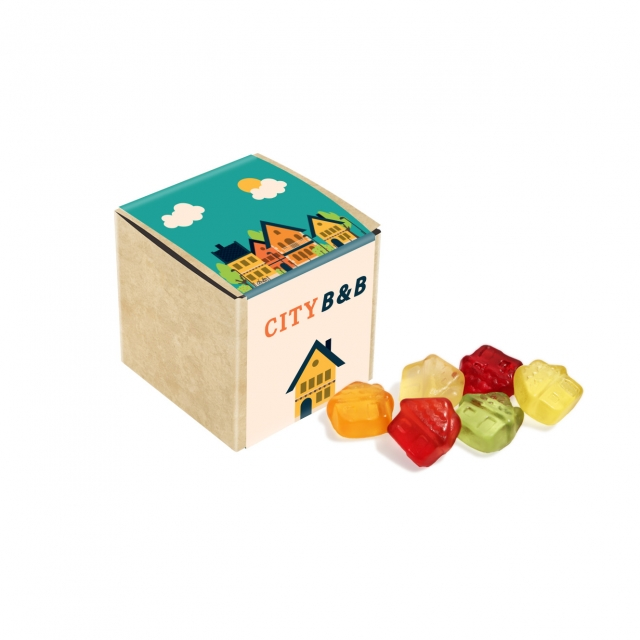 Eco Range – Eco Craft Cube – Kalfany Fruit Gums – 40g