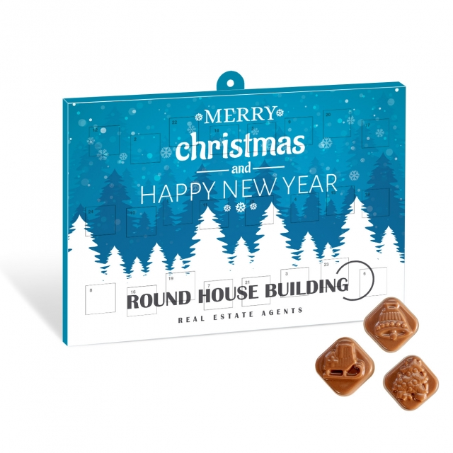 Christmas – Classic Calendar – Milk Chocolate – Maxi