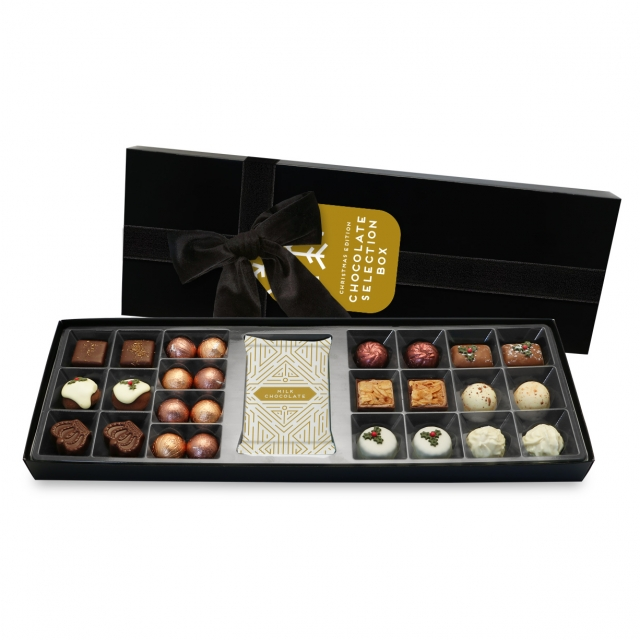 Winter Collection – Chocolate Box – Christmas Edition Chocolates