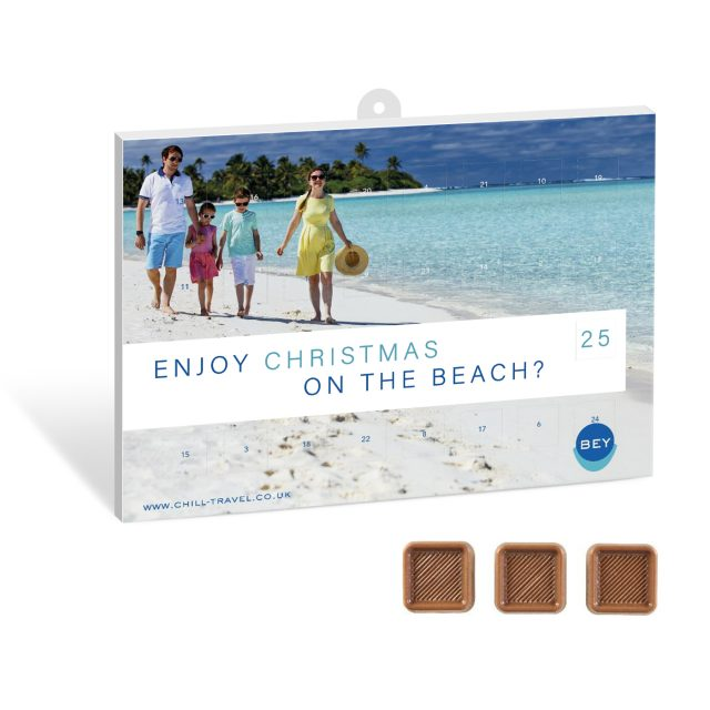 Christmas – 25 Day Calendar – Milk Chocolate Squares – SPECIAL OFFER!