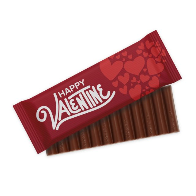 Valentines – 12 Baton – Chocolate Bar
