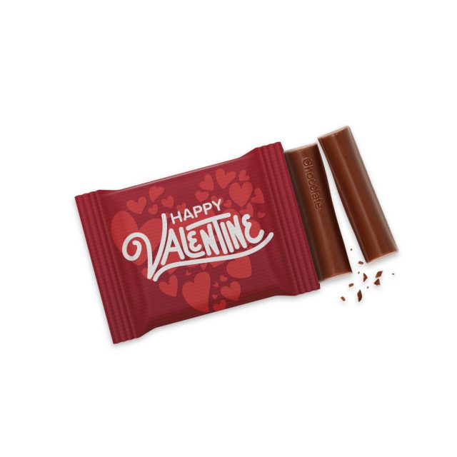 Valentines – 3 Baton – Chocolate Bar