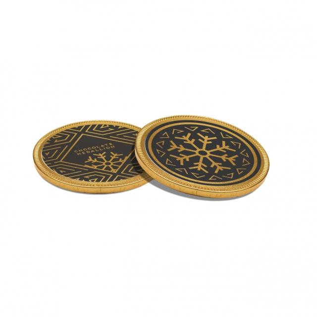 Winter Collection – Chocolate Medallion – 55 mm