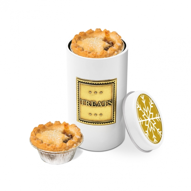 Winter Collection – Snack Tin – Mince Pies