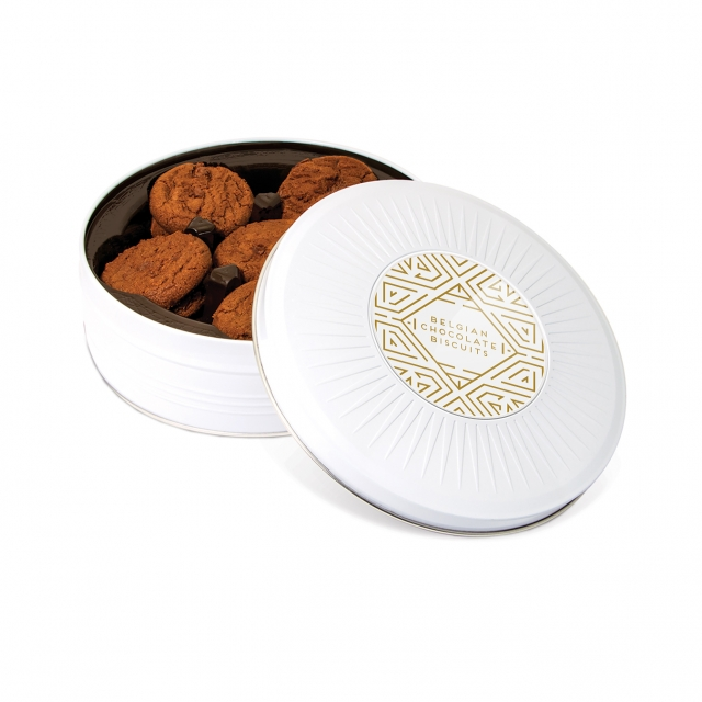Winter Collection – Share Tin – Sunray – Belgian Chocolate Cookies