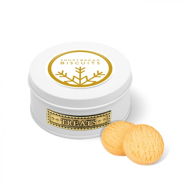 Winter Collection – Treat Tin – Mini Shortbread Biscuits