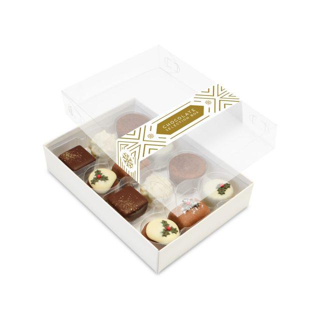 Winter Collection – 12 Choc Box – Christmas Truffles