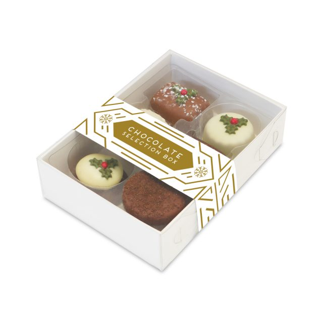 Winter Collection – 6 Choc Box – Christmas Truffles