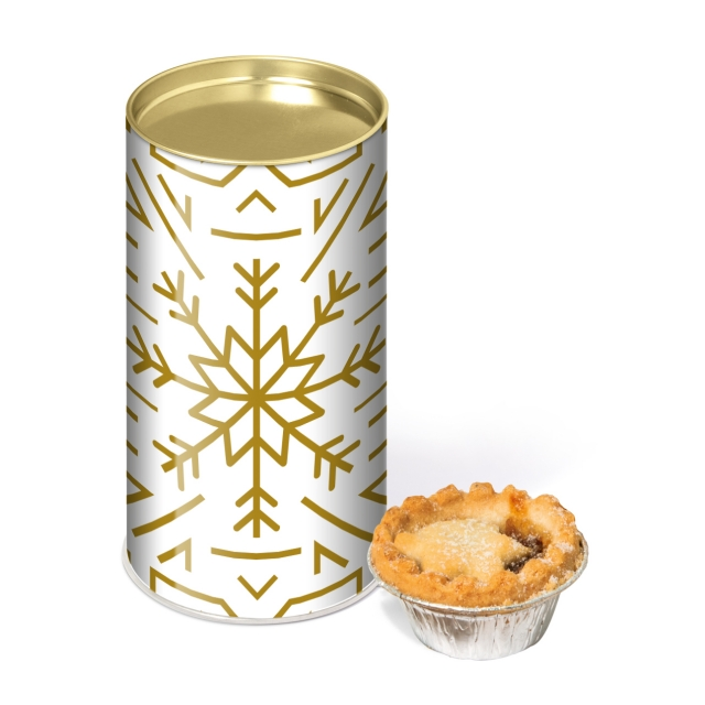 Winter Collection – Large Snack Tube – Mince Pies