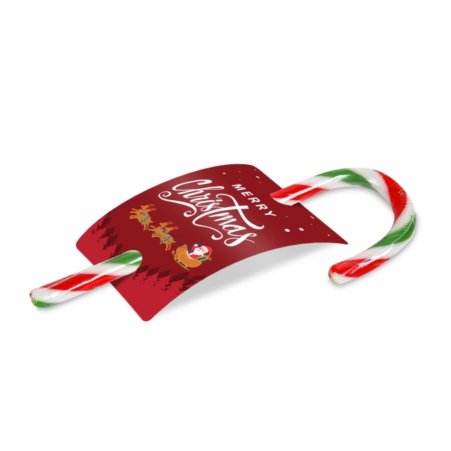 Christmas – Peppermint Candy Cane – 50 – Info Card