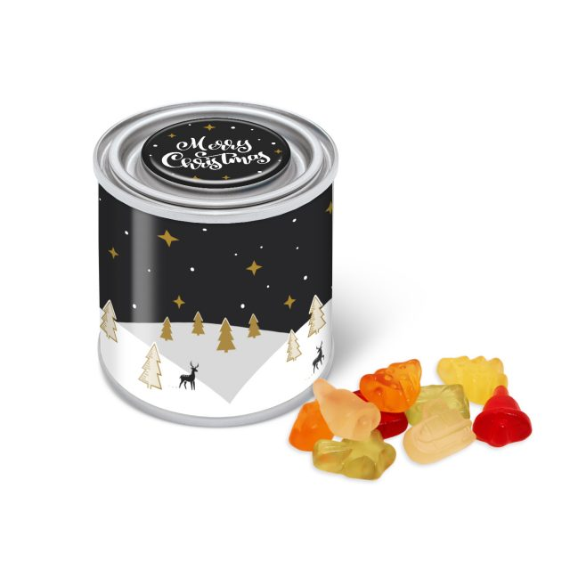 Winter Collection 2020 – Small Paint Tin – Kalfany Christmas Fruit Gums
