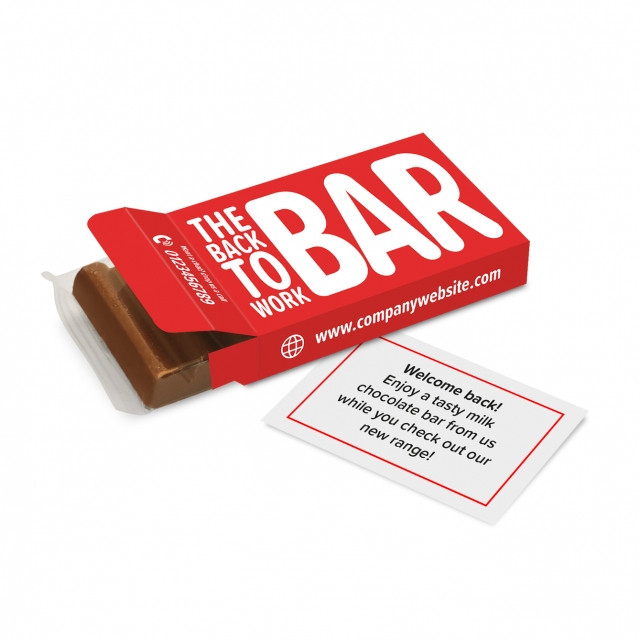 Eco Range – Eco 6 Baton Box – Chocolate Bar – 'Back To Work' COMING SOON