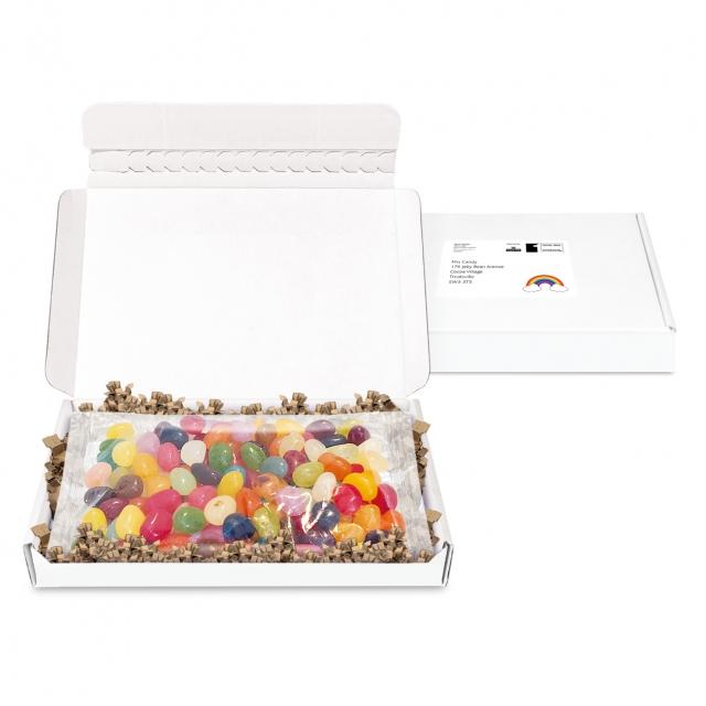 Postal Packs – Midi Postal Box – Jelly Bean Factory beans – 150g