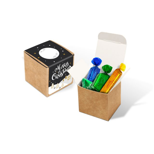 Winter Collection 2020 – Eco Kraft Cube – Quality Street