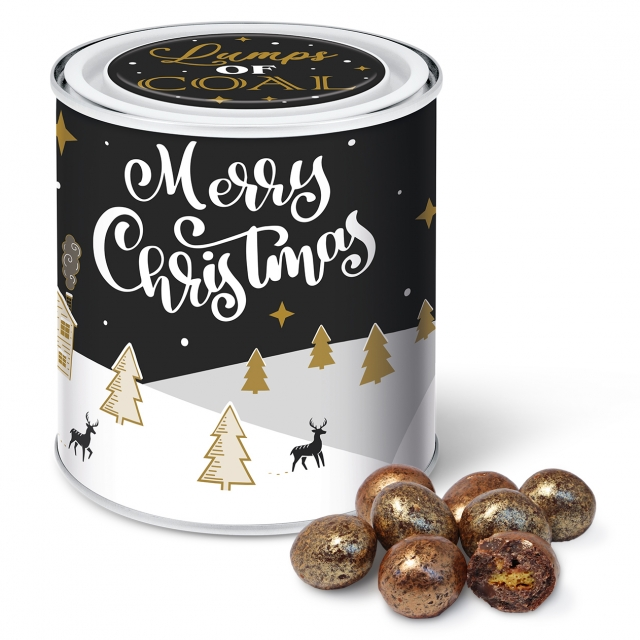 Winter Collection 2020 – Large Paint Tin – Lumps of Coal