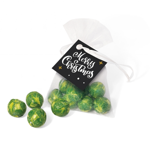 Winter Collection 2020 – Organza Bag – Chocolate Sprouts