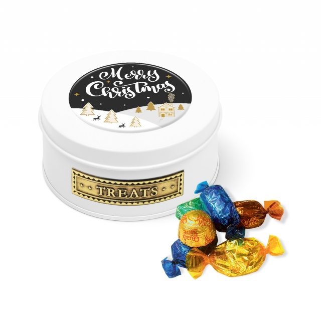 Winter Collection 2020 – Treat Tin – White – Quality Street