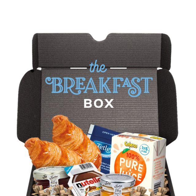 Gift Boxes – Midi Black Gift Box – Breakfast Editon