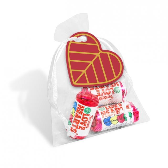 Valentines – Organza Bag – Love Hearts®