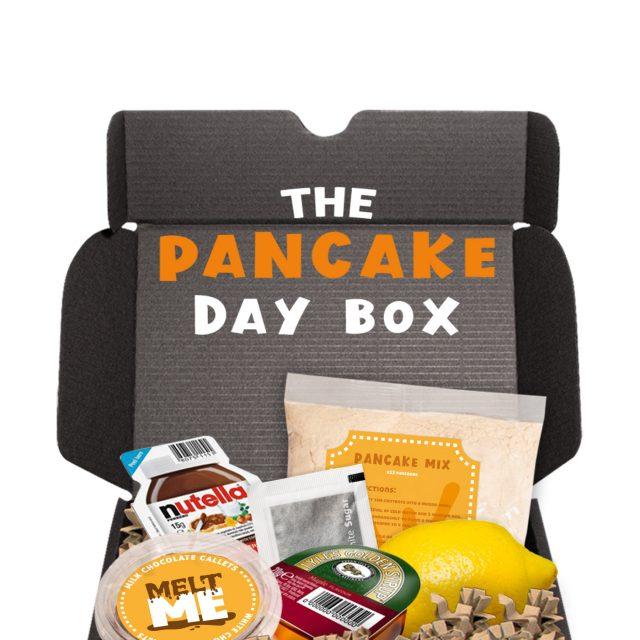 Gift Boxes – Midi Black Gift Box – Pancake Day Edition