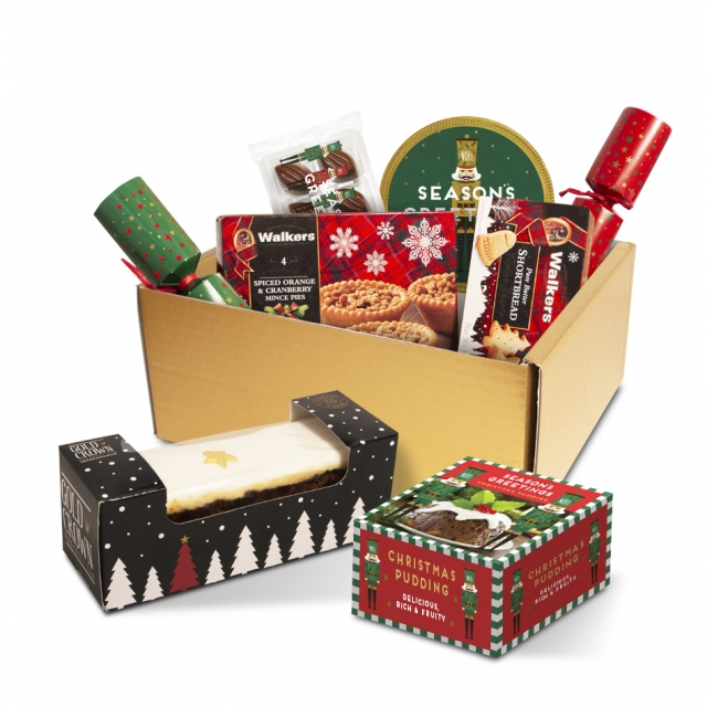 Winter Collection – Luxury Selection Gift Box – With Crackers